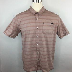 Vans button up short sleeve shirt
